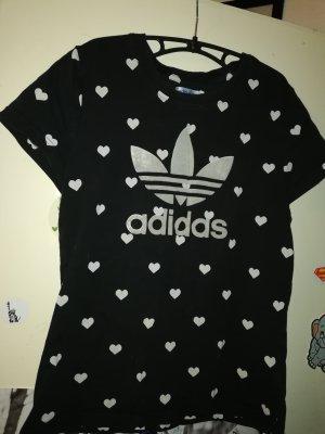 Adidas Shirt Herzen Gr. 40