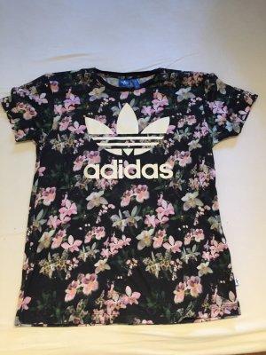 Adidas Shirt mit Orchideenprint