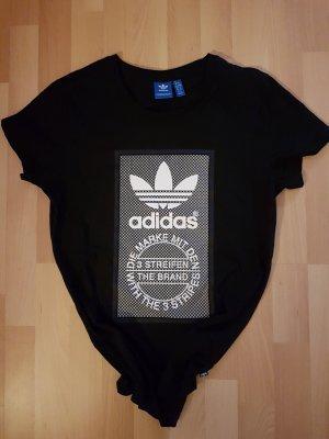 Adidas Originals T-shirt imprimé noir