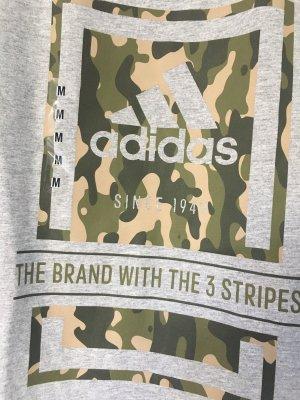Adidas T-shirt de sport gris-vert