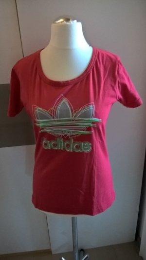 Adidas Shirt rosa mit Aufdruck