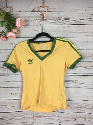 Adidas Shirt Sport Mode Gelb Grün