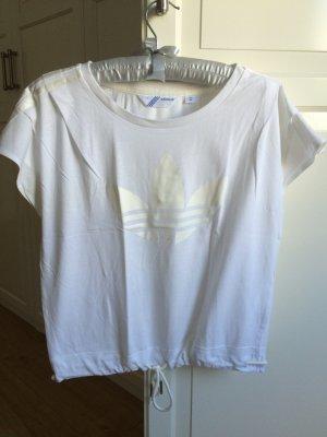 Adidas Shirt weiß Größe 34