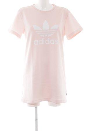 Adidas Shirtkleid rosa sportlicher Stil