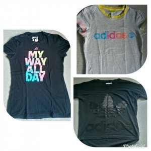 Adidas-Shirts; auch einzeln erhältlich