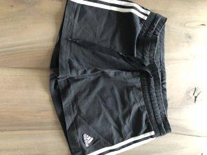 Adidas Short schwarz weiß