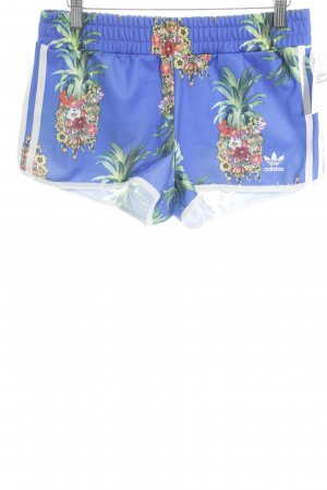 Adidas Shorts florales Muster sportlicher Stil