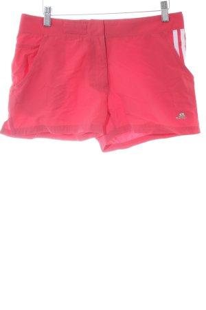 Adidas Shorts rot-weiß Casual-Look