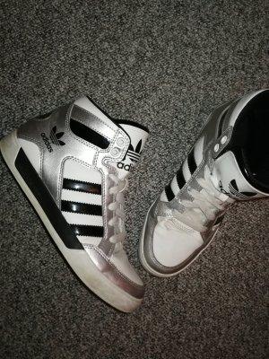 Adidas Silver High Top Special Edition