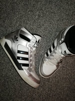 Adidas Silver High Top Special Edition