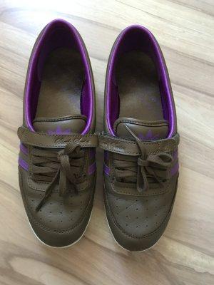 Adidas sleek Ballerinas lila braun Größe 39 Ballerina sneaker wie neu