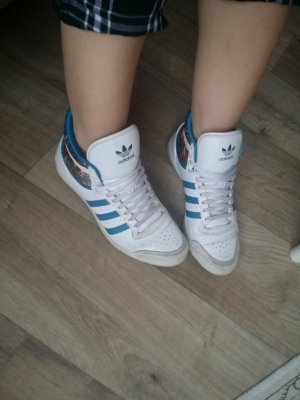 Adidas Sleek Hi Petrol 37 1/3