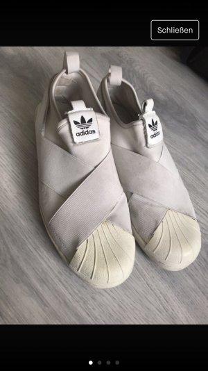 Adidas slip on weiß