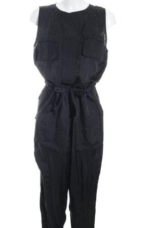 Adidas SLVR Tuta nero elegante