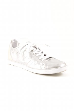 Adidas SLVR Lace-Up Sneaker white-silver-colored casual look