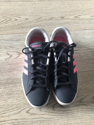 Adidas NEO Lace-Up Sneaker pink-dark blue