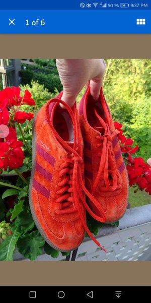 Adidas Originals Lace-Up Sneaker dark orange-bright red