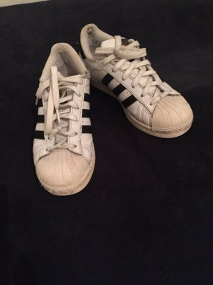Adidas Originals Sneakers met veters wit-zwart