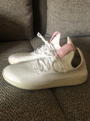 Adidas Originals Basket à lacet blanc-or rose