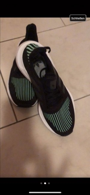 Adidas Originals Slip-on Sneakers black-green