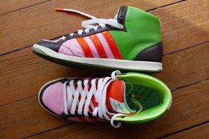 Adidas # Sneaker # ADI HOOP MID W # bunt # 39 1/3
