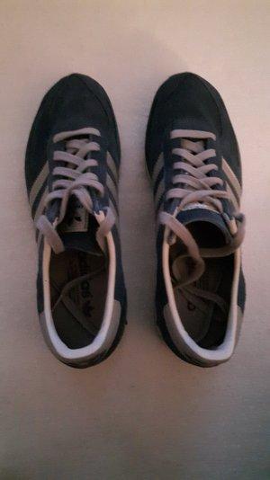 Adidas Sneaker blau/silber