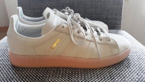 Adidas Lace-Up Sneaker oatmeal leather