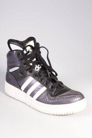 Adidas Sneaker dunkelviolett-weiß