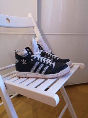 Adidas Sneaker stringata bianco-blu scuro