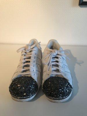 Adidas Sneaker stringata antracite-bianco