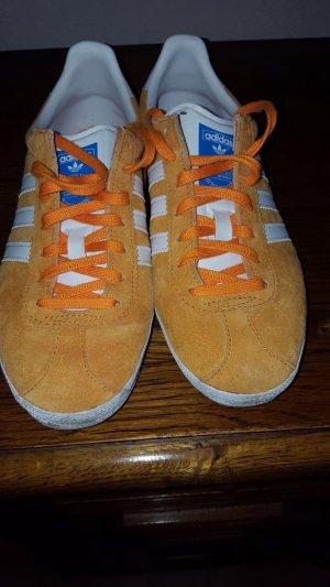 """Adidas Sneaker """"Gazelle"""", in orange, Gr 38, kaum getragen, Echtleder"""