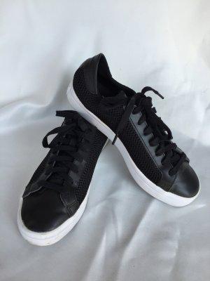 Adidas Sneaker gr 38 schwarz weiß