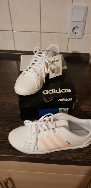 Adidas Originals Zapatillas blanco-naranja