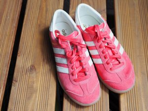 Adidas Originals Lace-Up Sneaker red