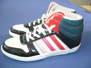 Adidas Sneaker High Top NEO 38 schwarz weiß Rosatöne