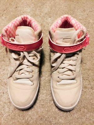 Adidas Sneaker hohe Schaft beige pink 38