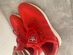 Adidas Sneaker stringata rosso