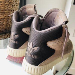 Adidas High top sneaker wit-grijs-paars