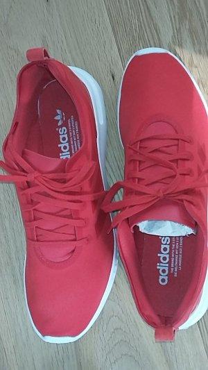 Adidas Sneaker knallrot Größe 40