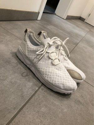 Adidas Zapatilla brogue blanco-crema
