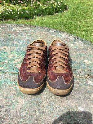 ADIDAS Sneaker Leder braun 45 1/3