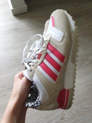 Adidas Originals High top sneaker beige-roze