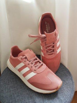 Adidas Originals Sneaker bianco-rosso lampone