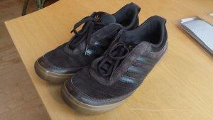 Adidas Sneaker nubuk leder