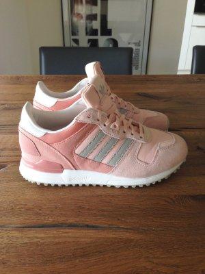 Adidas Sneaker Rosa Rose Nude Gr. 36,5 / 37 Wildleder Leder blogger