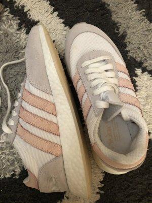 Adidas Sneakers met veters wit-roségoud