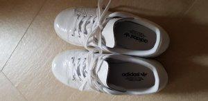 Adidas Originals Zapatilla brogue blanco Cuero