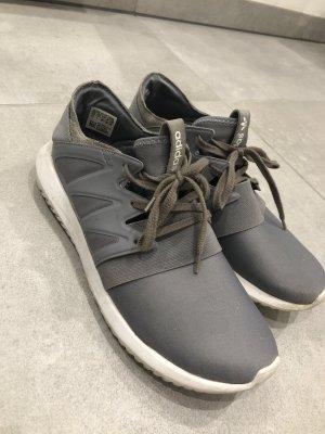 Adidas Sneaker tubular grau