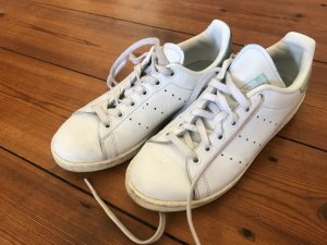Adidas Sneaker stringata bianco-grigio Pelle