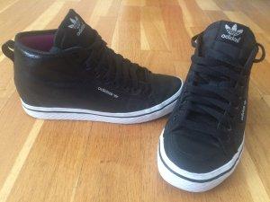 Adidas Sneaker, Wedges, Sleeky Series, mit herausnehmbarem Keilabsatz,  Schwarz - glänzend, Gr. 38